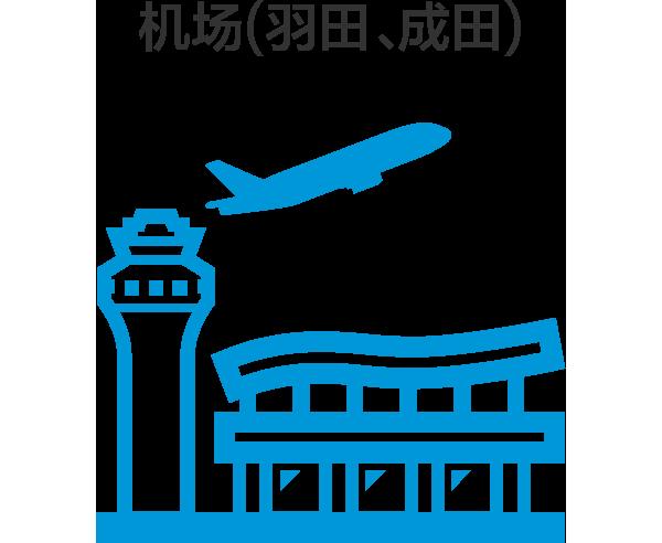机场(羽田,成田)